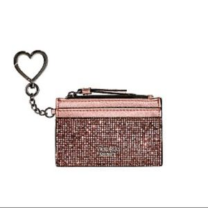 NWT! Victoria's Secret sparkle card case